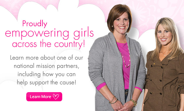 Proudly empowering girls across the country