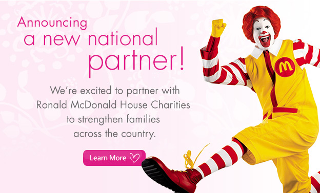 Announcing a new national partner!